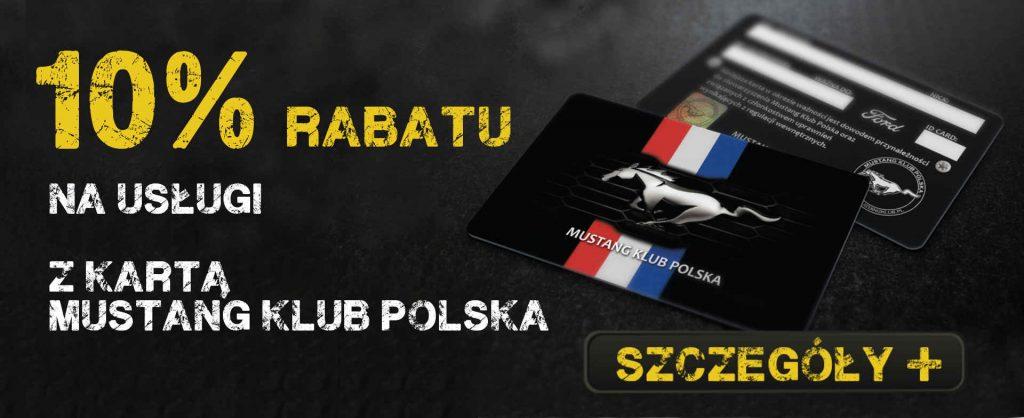 Karta Mustang Klub Polska